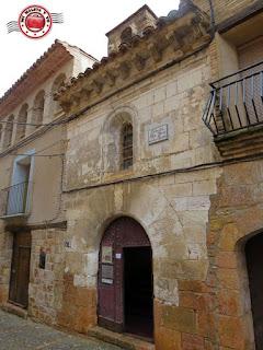 Alquezar en Huesca, España - Nuestra señora de las Nieves