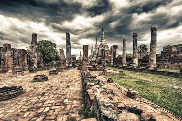 Le 3 pagode-Ayutthaya