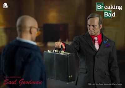 osw.zone ThreeZero 1/6 Scale Bob Odenkirk as Breaking Bad Saul Goodman 12 inch Collectible Figure