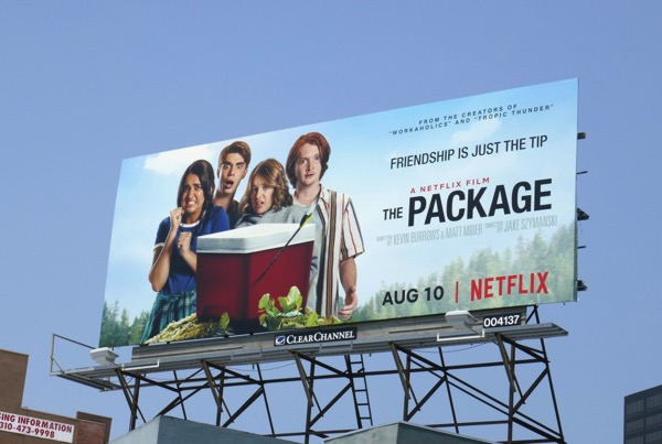 Package Netflix film billboard