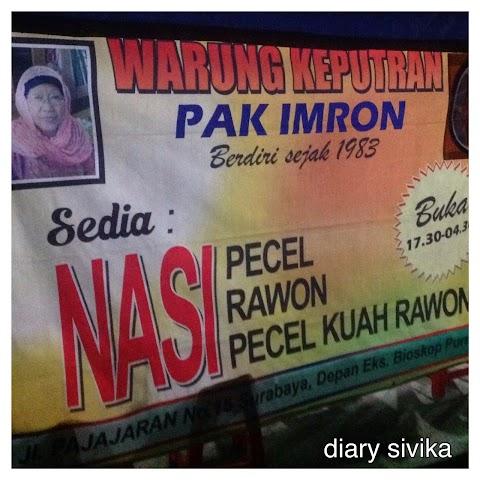 Warung Pecel Keputran, Surabaya