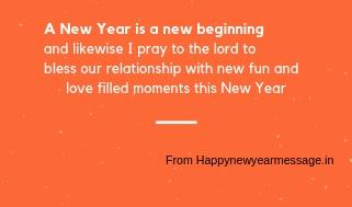 happy new year shayari in english