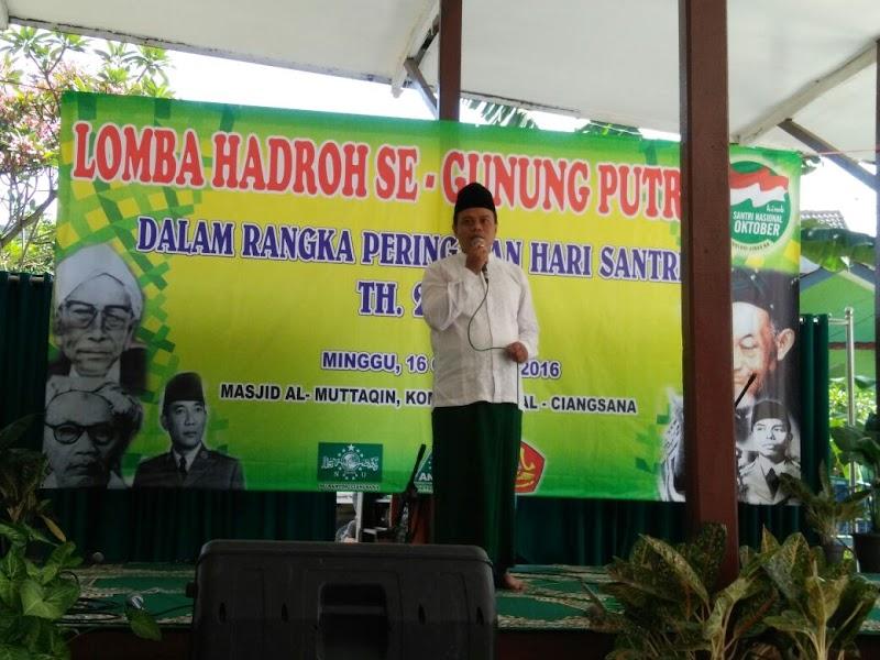 Lomba Hadroh di Gunung Putri, Mulai Ramaikan Gebyar #HariSantri di Bogor Timur