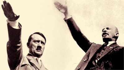 Hitler and Lenin