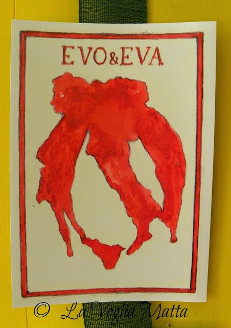 Evo e Eva le donne nell'olio