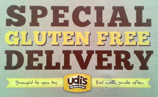 A special gluten free delivery from Udi's