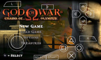 Download Game PPSSPP God Of War Chains Of Olympus CSO High Compress
