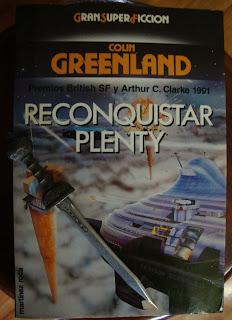 Portada del libro Reconquistar Plenty, de Colin Greenland