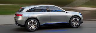 Mercedes-Benz EQ  Interior features