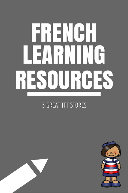 French learning resources: 5 great TpT stores