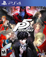 Persona 5 Game PS4 Cover (2)