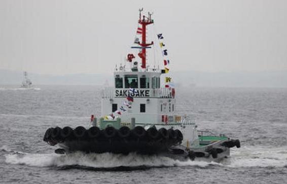 Tugboat Buatan Jepang (NYK) Pertama Berbahan Bakar LNG Mendapat Pengakuan Pada Logistics Environment Awards ke-17