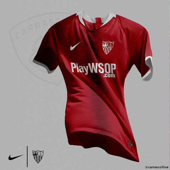 f347f4fb02340 Nike Sevilla 18-19 Away Kit Concept