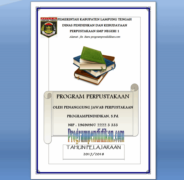 program kerja perpustakaan