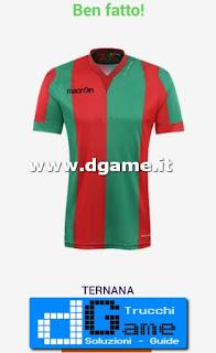 Soluzioni Indovina maglia calcio Italia livello 41