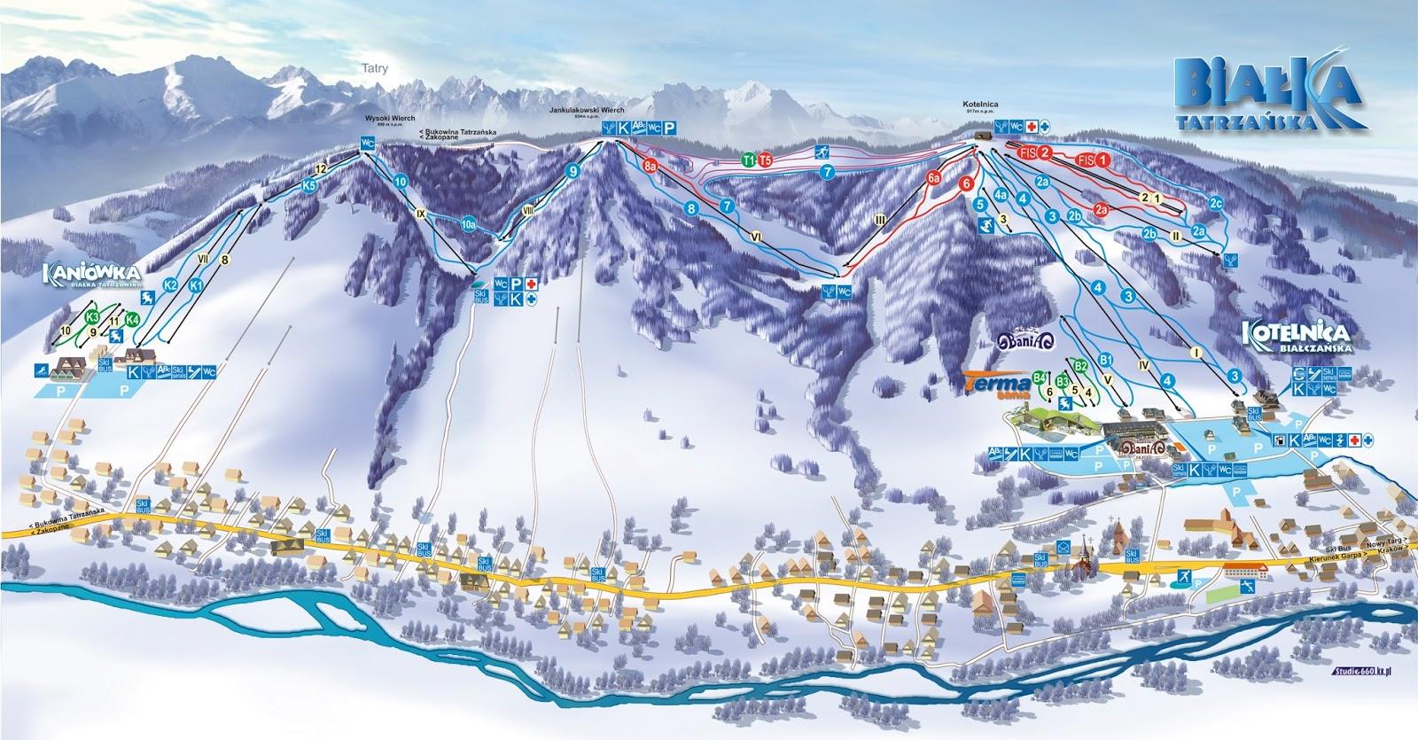 wyciąg narciarski białka tatrzańska
