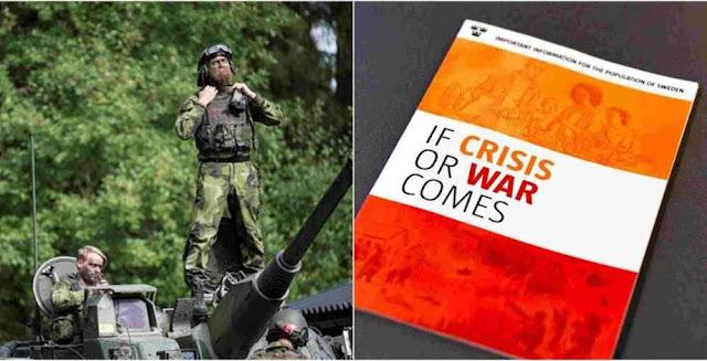 O país mais pacifista prepara população para a guerra. Rússia inspira temor.
