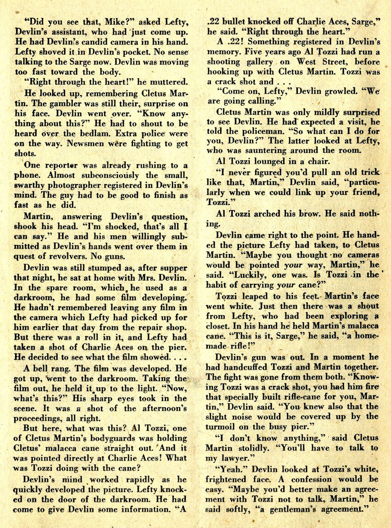 Read online Detective Comics (1937) comic -  Issue #119 - 36