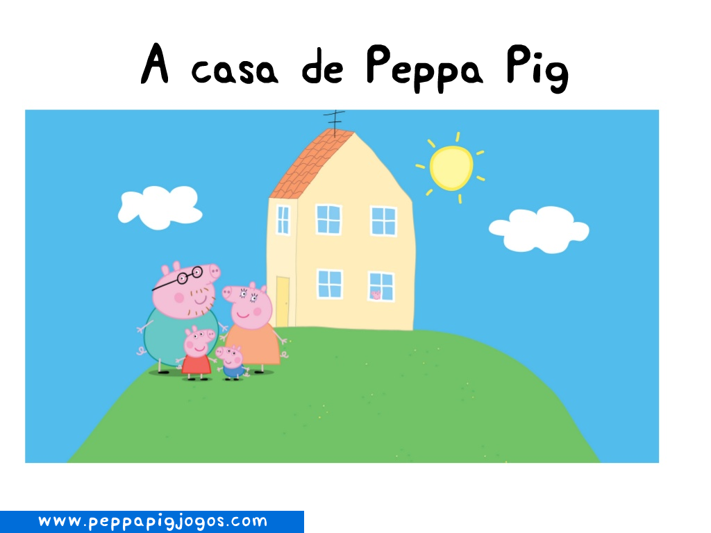 Frases com Peppa Pig  Peppa Pig Jogos