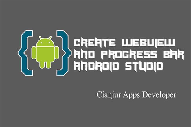 Cara Membuat ProgressBar pada Webview Android Studio