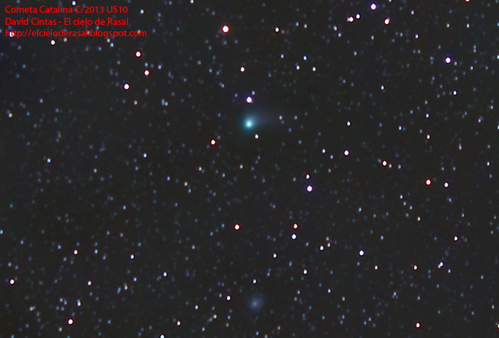 Cometa Catalina - El cielo de Rasal