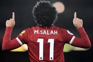محمد صلاح يشارك فى رباعية ليفربول امام وست هام يونايتد ,الدوري الانجليزي