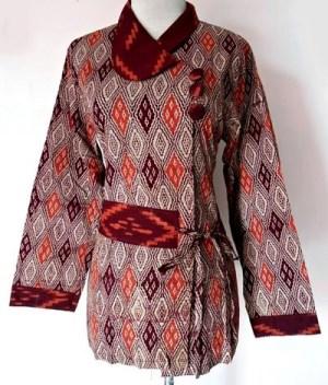Aneka Ragam Model Baju Batik Lengan Panjang