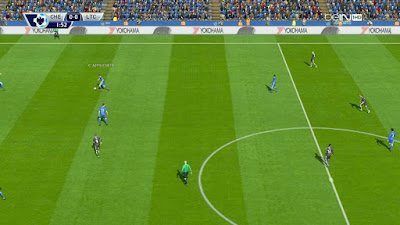 PES 2016 Beautiful Pitch V1.5 + FIX