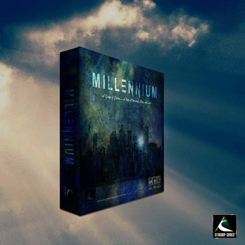 Millennium - The Board Game - A Dystopian Story Wrapped Around a Game