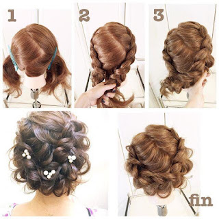 9 Cara Mengikat rambut Pendek Simple, Mudah dan Terbaru (Beserta Step langkah Gambar)