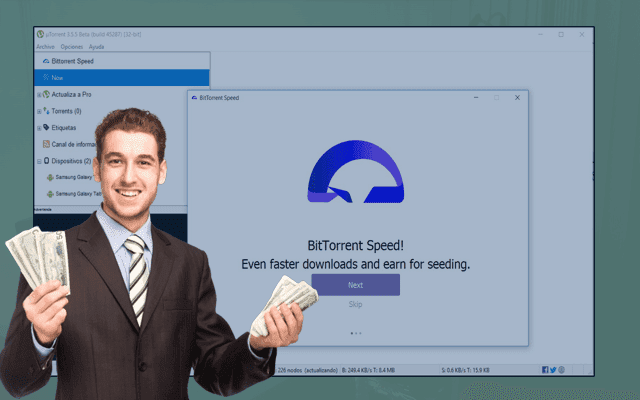 uTorrent يضيف الآن عملته المشفرة التي تدفعك المال للتحميل بشكل أسرع في البرنامج