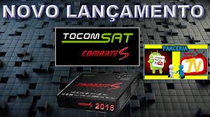 ATUALIZAÇÃO TOCOMSAT COMBATE S  V1.81 - 19/07/2018