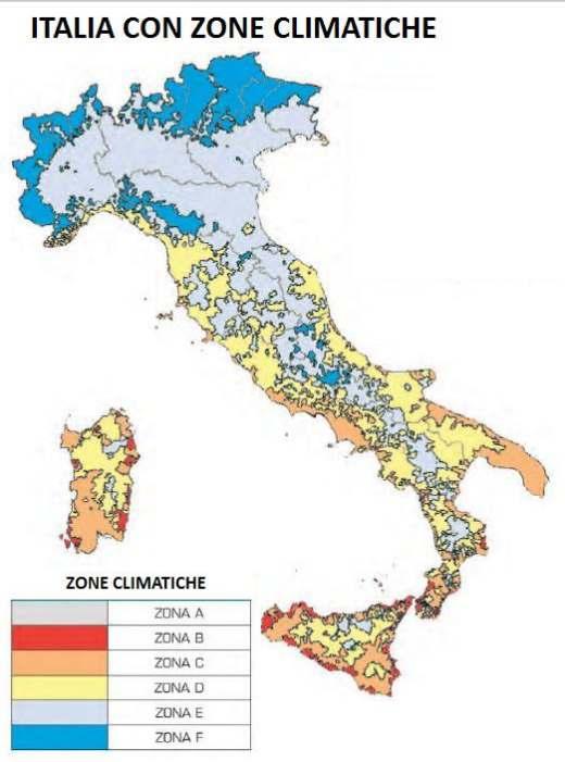 Cartina Italia Zone Climatiche.Nicola Martinello Croesus Serramenti Tabella Zone Climatiche Italiane