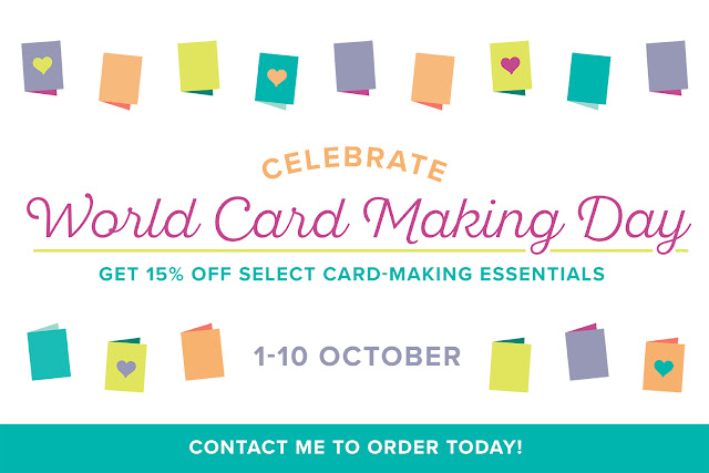 Stampin' Up! World Card Making Day Offer