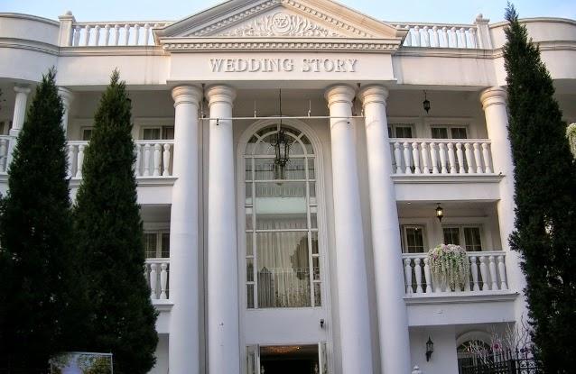 結婚式・披露宴会場…ロココ調の建物