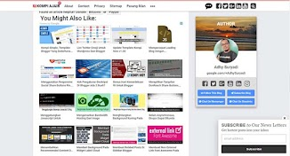 Membuat Tampilan Related Posts Seperti Matched Content Adsense