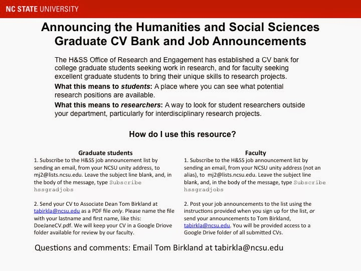 Humanities and Social Sciences Research and Engagement: The