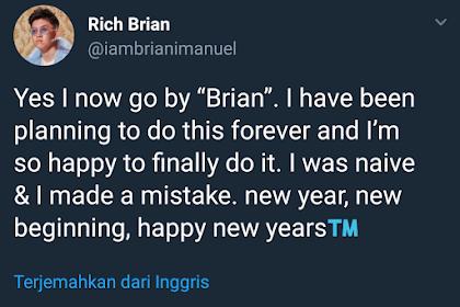 Rich Chigga Ganti Nama Panggung dan Permintaaan Maaf