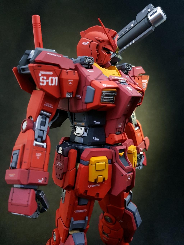 Id008 Mg Rx7802 Gk Gundam Hg Mechanics Dendrobium Kits Used 1 100 Rx 78 02 The Origin Infinite Dimension Resin Conversion Kit