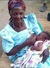 Ghanaian Barren Woman  Gave Birth To A Baby Girl At The Age Of 82 ─ Photos
