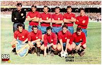 Resultado de imagen de seleccion española de futbol año 1970