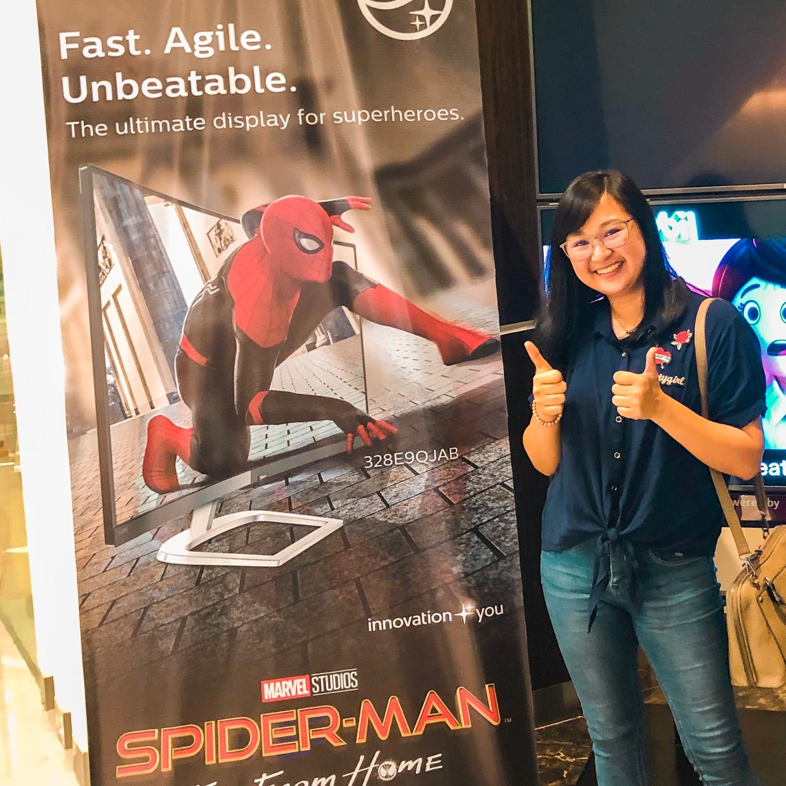 Spider-Man: Far From Home Movie Screening with Philips Monitors