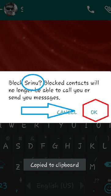 Begini Nih Caranya Memblokir kontak pada whatsapp untuk berhenti menerima pesan 5
