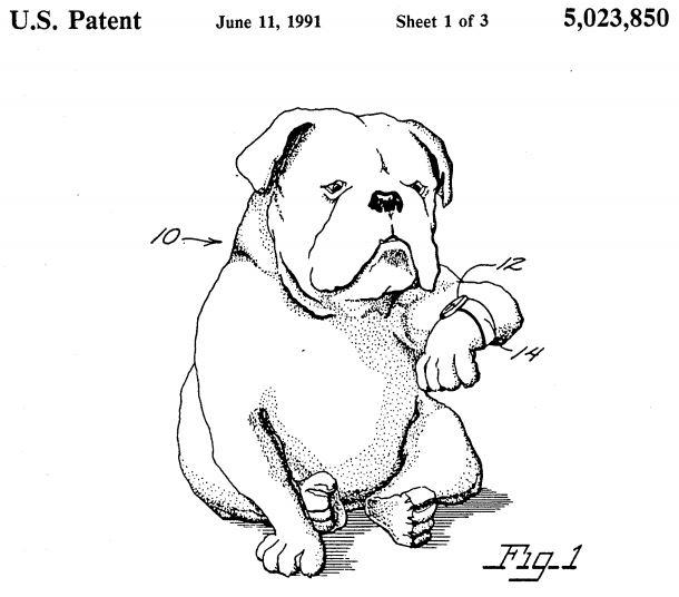 U.S. Patent 5,023,850 Figure 1