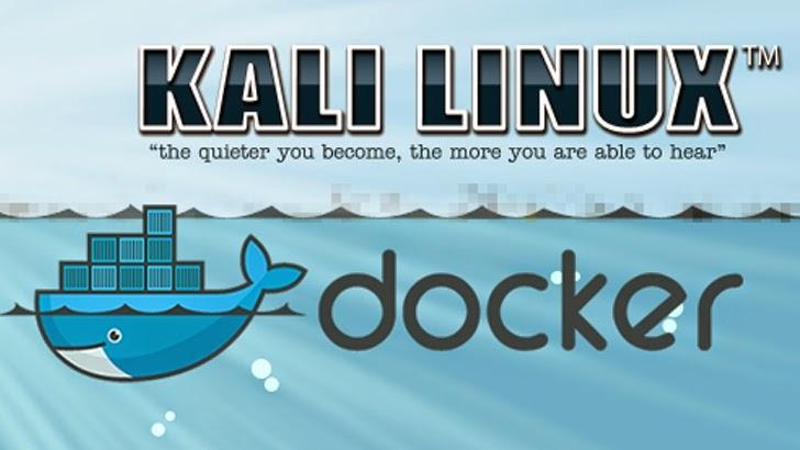 Kali Linux for Docker