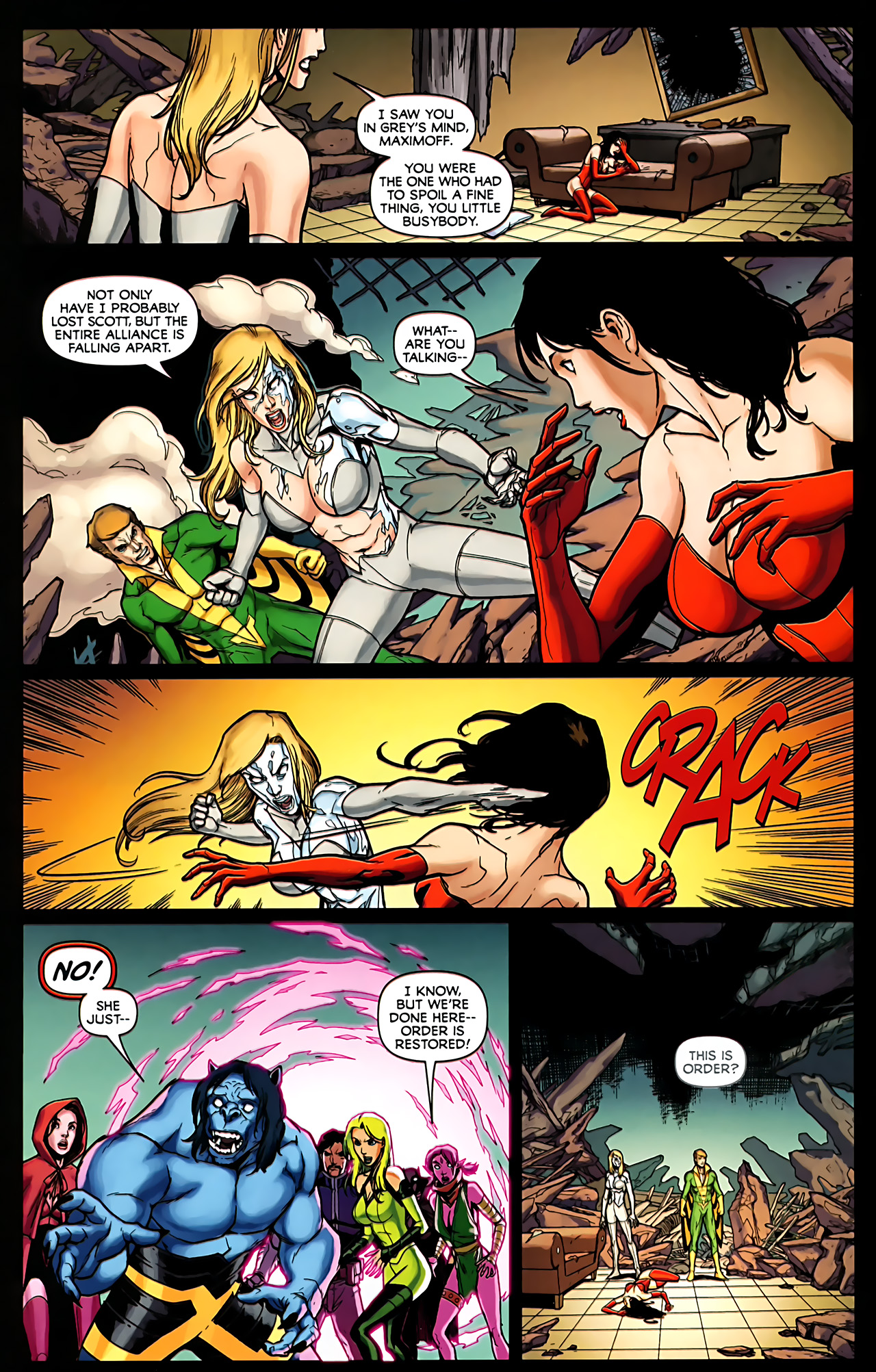 Read online Exiles (2009) comic -  Issue #6 - 12