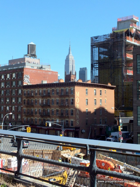 desde el high line new york
