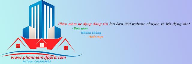 Phần mềm đăng tin rao vặt bất động sản