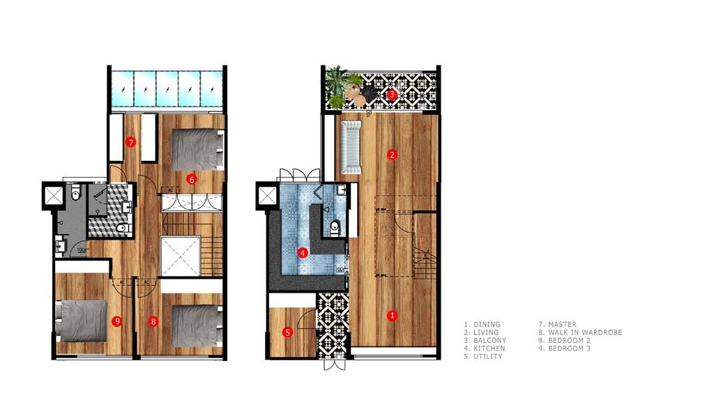 Butterpaperstudio Reno S3 Maisonette Floor Plan