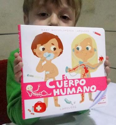 Hoy leemos: El cuerpo humano.